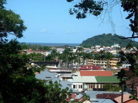 Vista de Caiena, capital da Guiana Francesa.
