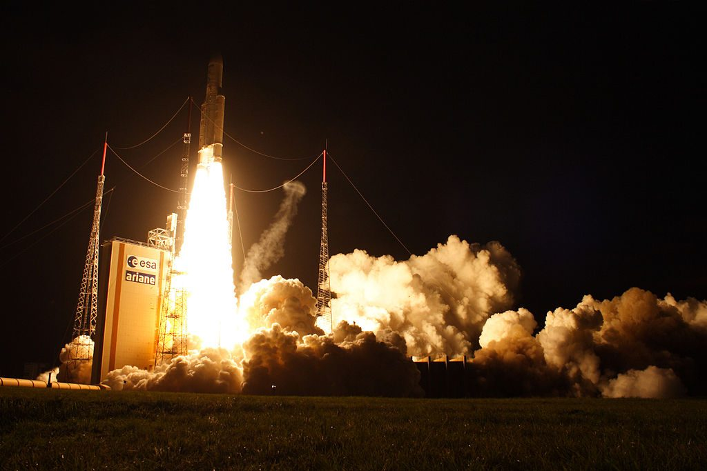 Centro Espacial de Kourou, na Guiana Francesa