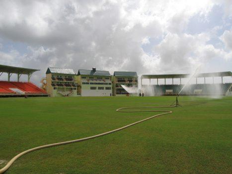 Providente Stadium, construído para a Copa do Mundo de Críquete, em Guiana.