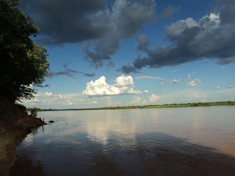 Imagem do Rio São Francisco, na Bahia