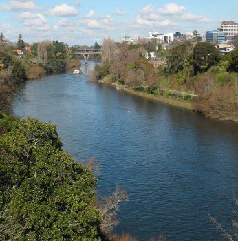 Rio Waikato, maior da Nova Zelândia