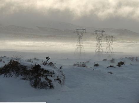Neve na Nova Zelândia